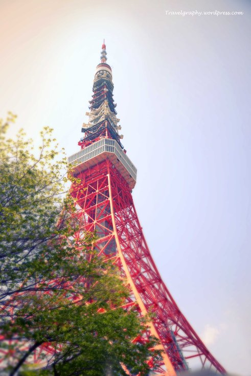 The iconic Tokyo Tower 东京铁塔