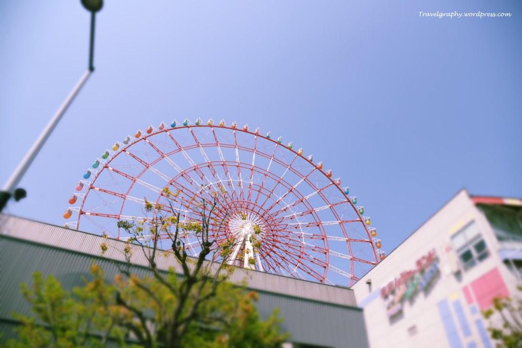 Daikanransha (おだいば) - one of world's largest ferris wheels