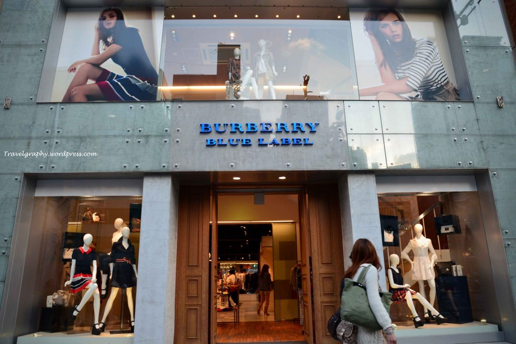 Burberry Blue Label - exclusive to Japan
