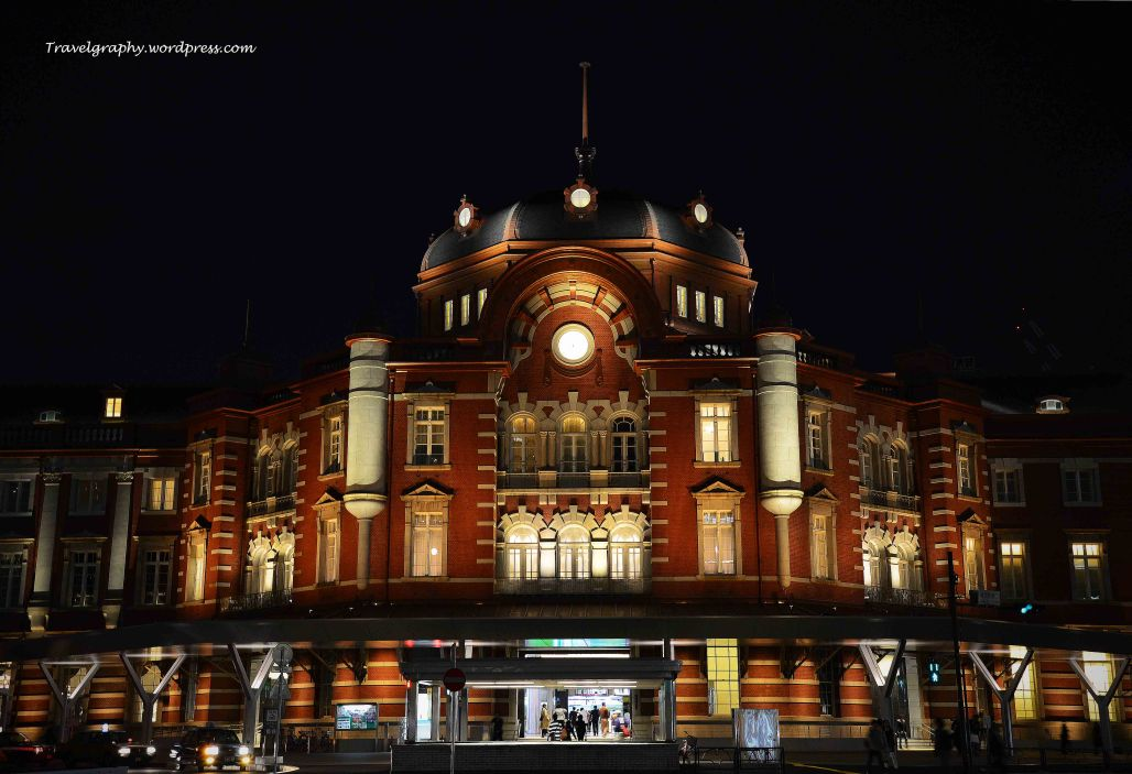 The royal evening gown of Tokyo Station 东京站的优雅晚装