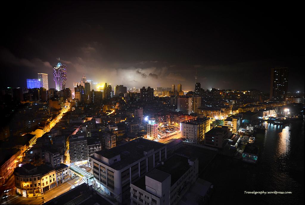 sofitel night view